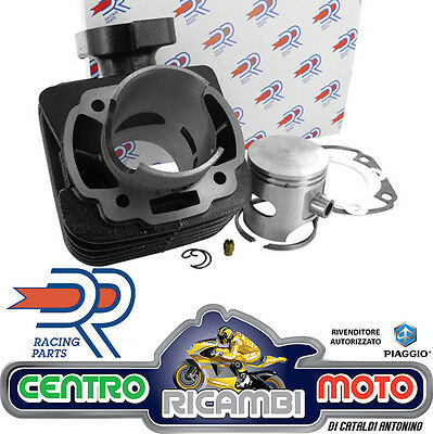 Gruppo Termico Cilindro Maggiorato DR Ghisa D 47 70cc Peugeot Metal X 50 KT00058