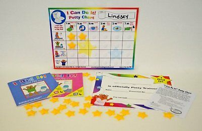 Kenson Kids - I Can Do It - Potty Chart Updated Toilet Training System