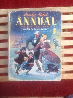 Daily Mail Annual for Boys and Girls Edited by Susan French: Rare & Collectable