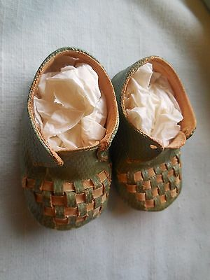 Vintage 1930's  Baby Doll Shoes Rare - excellent vintage doll shoes