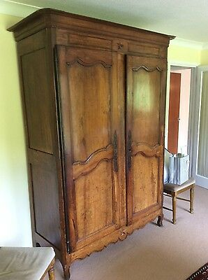 Antique 19( Fruitwood French Armoire