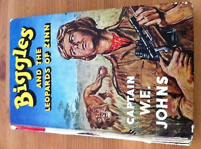 Biggles and the Leopards of Zinn - Captain W.E.Johns - First Edition Hardback 19