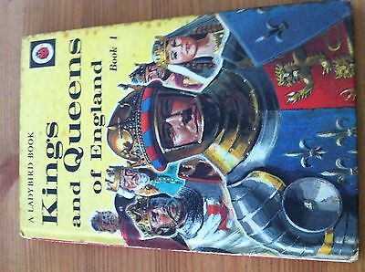 Kings and Queens - Book 1 - Ladybird series 561 - 1968