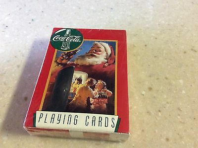 NEW, sealed deck of Coca-Cola Playing Cards, by US Playing Card Co. Ohio made