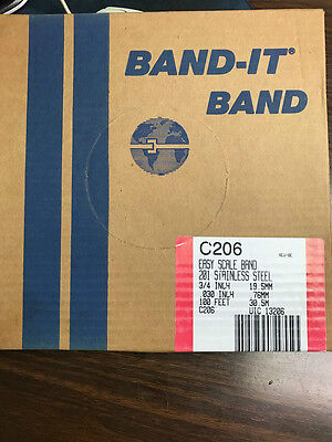 "Band-It C20699 Stainless Steel Banding 3/4"" Wide x 100'"