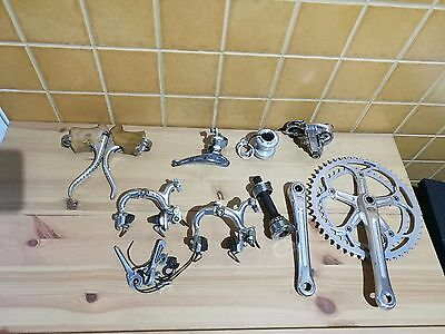 vintage Shimano 600 6200 Arabesque group set 170mm 52-42T