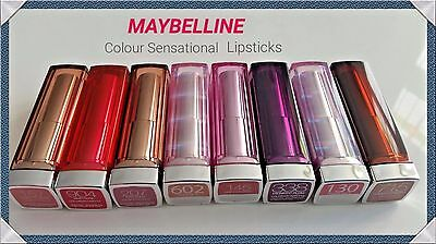 Maybelline Colour Sensational Lipstick NEW please choose your  shade