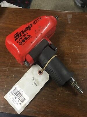 """Snap-on MG725 1/2"""" Dr Heavy-Duty Air Impact Wrench with Cover FREE SHIPPING"""