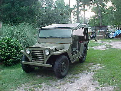 Military M151 For Parts Mutt 1964 Jeep Truck Vechical Army Marine Navy Air Force