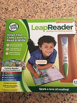 Leap Frog Leap Reader-  Reading And Writing System - Blue Pen