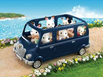 Sylvanian Families Bluebell Seven Seater for All the Members of a Family