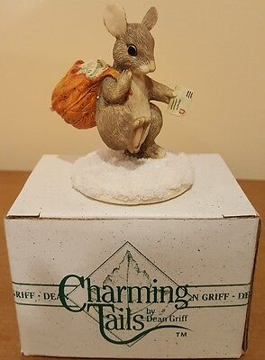 Dean Griff Charming Tails Mail Mouse Figurine