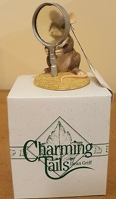 Charming Tails I See Things Clearly Now Figurine