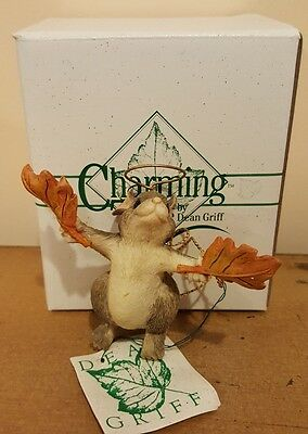 """CHARMING TAILS """"Flights of Fancy"""" Fitz and Floyd Christmas Ornament"""