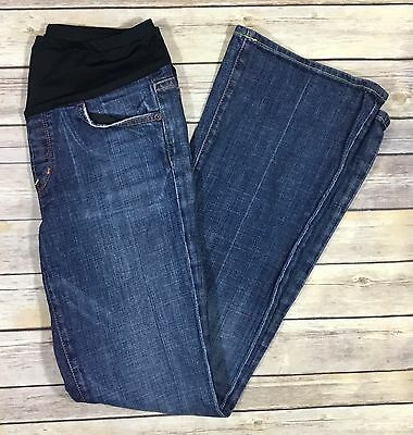 Citizens Of Humanity Womens Maternity Denim Jeans Size 28 Bootcut Dark Wash 58