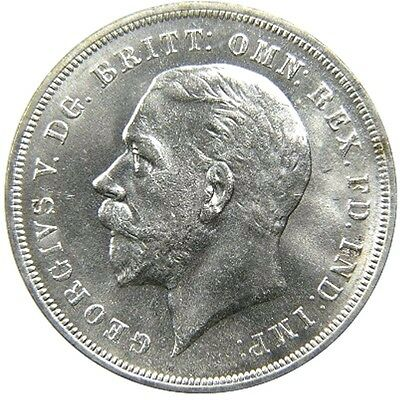 "Great Britain, GEORGE V, 1910-1936, AR ""Rocking Horse"" CROWN, 1935, Choice UNC."