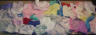 Huge Lot Vintage Baby Or Doll Clothes Dresses Sleepers Disney Healthtex Carters