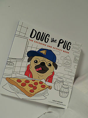 doug the pug book doug the pug the coloring and activity book by leslie 876