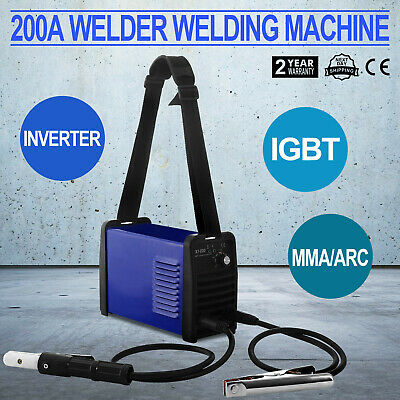 NEW Welder Inverter ARC 200Amp Welding Machine DC iGBT Stick Portable