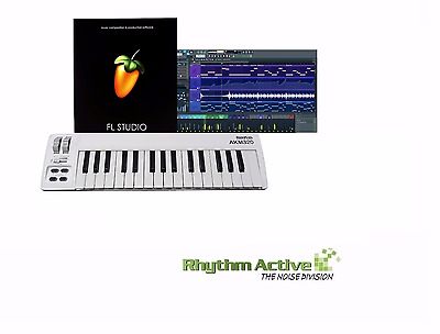 Midiplus Akm320 32-Key Usb/midi Keyboard Controller+Fl Studio 12 Fruity Loops