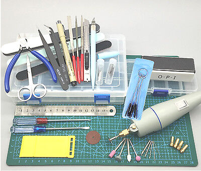 New Complete Sets Model Sculpture Assembling Pad Polish Drill Modeling Tool CJ1
