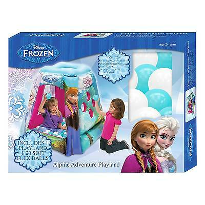 Disney Frozen Alpine Adventure Playland includes 20 Balls - Fast Shipping - NEW!