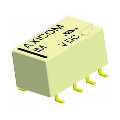 1 x TE Connectivity DPDT PCB Mount Non-Latching Relay IM06DGR, 12V dc Coil, 5A