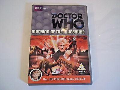 Doctor Who Invasion of the Dinosaurs dvd 2 disc set  as new condition