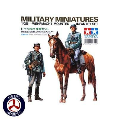 Tamiya 1/35 Wehrmacht Mounted Infantry 35053 Brand New