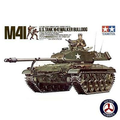 Tamiya 1/35 US M41 Walker Bulldog Light Tank T35055 Brand New