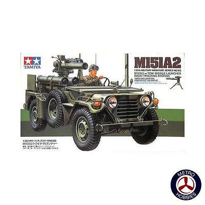 Tamiya 1/35 M151A2 Ford Mutt with Tow missile launcher T35125 Brand New