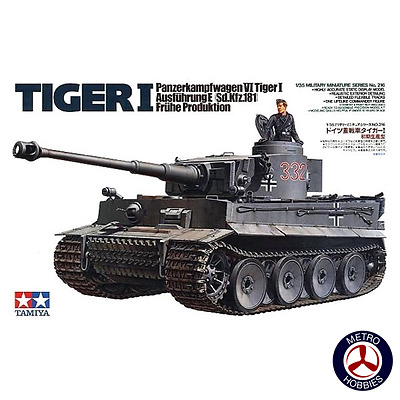 Tamiya 1/35 German Tiger I Early Production T35216 Brand New