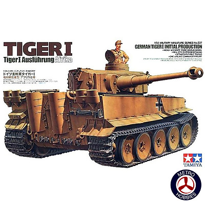 Tamiya 1/35 German Tiger I Initial Production T35227 Brand New