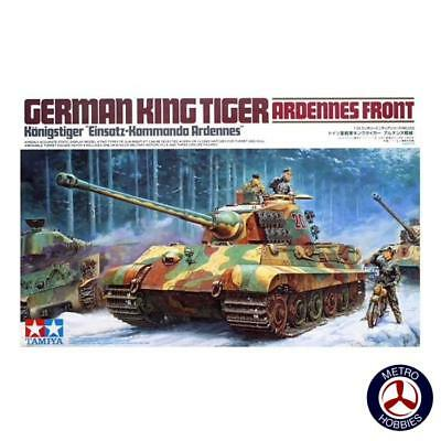 Tamiya 1/35 German King Tiger: Ardennes Front T35252 Brand New