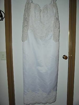 WEDDING DRESS - Size 14(Can Post)