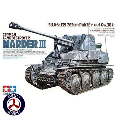 Tamiya 1/35 German Sd Kfz 139 Marder III Tank Destroyer T35248 Brand New