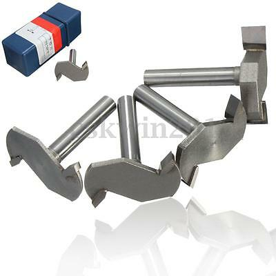 1/4'' Shank CNC Woodwork Router Bit Cutter Slot Edge Trimming Carving Blade Tool