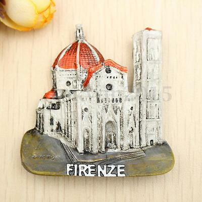 Resin Firenze Florence Cathedral Italy 3D Fridge Magnet Souvenir Gift Home Decor
