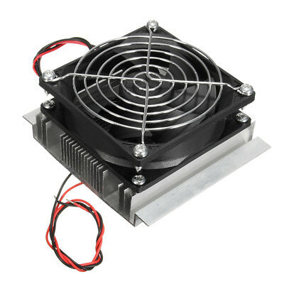 Thermoelectric Peltier Refrigeration Semiconductor Air Conditioner Cooler Kit