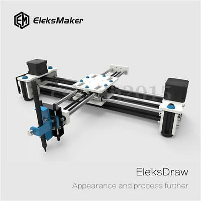EleksMaker EleksDraw 5500mW XY 2 Axis CNC Pen Plotter DIY Laser drawing machine