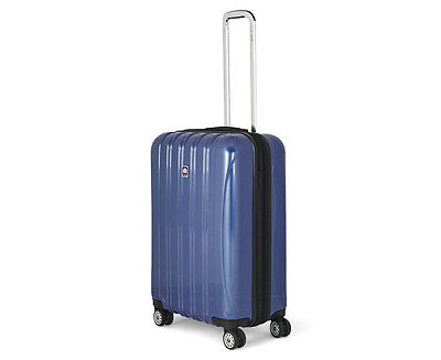 Delsey Helium Aero 69cm 4-Wheel Expandable Trolley Case - Blue