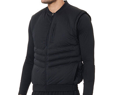 JAGGAD Men's Puffa Vest - Black