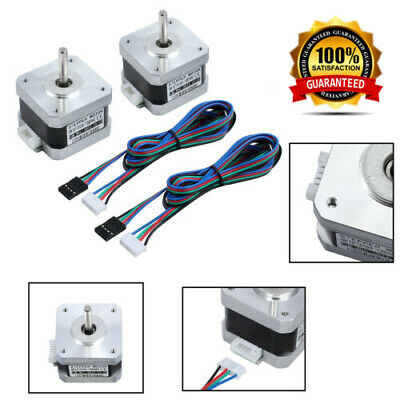 2X Nema 17Stepper Motor 56Ncm 42HD4027-01 1.8°12V for DIY 3D Printer CNC Robot