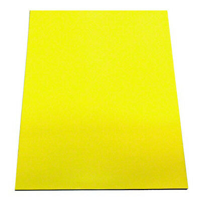 MagFlex® A4 Flexible Magnetic Sheet - Matt Yellow (1 Sheet)
