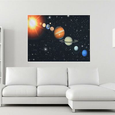 Cosmos Solar System Universe Space Patterns Art Silk Cloth Poster Home Decor