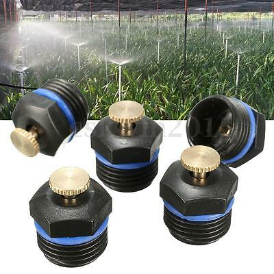 5Pcs Yard Garden Gas Sprinkler Head Water Lawn Irrigation Spray System Cooling