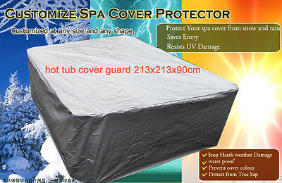 hot tub cover guard 7FT 213x213x90cm cover protector- No insulated