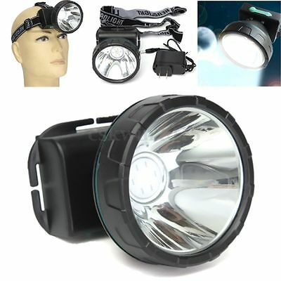 5W Rechargeable LED Headlight Headlamp Head Torch For Camping Hunting Fishing