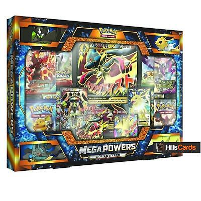 Pokemon TCG: Mega Powers Collection Box: Booster Packs + Promo Cards