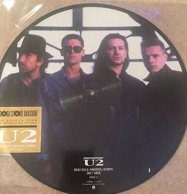 "U2 - Red Hill Mining Town Picture Disc 12"" Vinyl - Record Store Day 2017 Rsd"